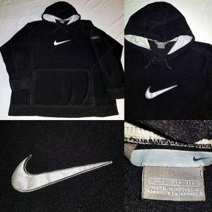 Vintage Men's Nike Hoodie w/ Big Swoosh in sweater